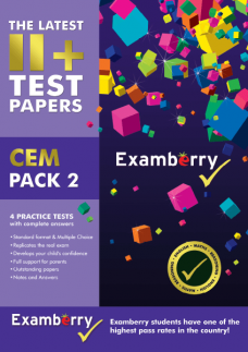 11+ CEM pack 2 practice pack for 11+ preparation