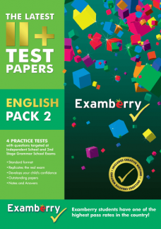 Published 11+ english papers for entrance exam success