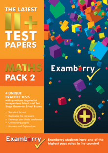 Published practice Maths papers for 11 plus