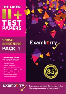 Expert quality verbal reasoning practice test papers
