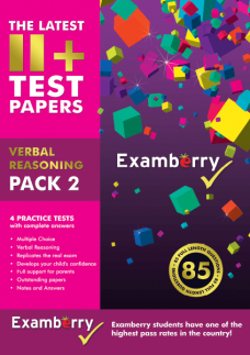 Practice 11+ verbal reasoning exam questions and explanations