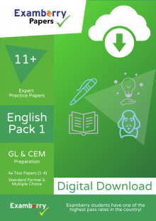 Practice English exam papers at 11+ level