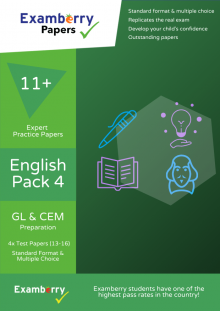11+ expert english papers that replicate the real exam