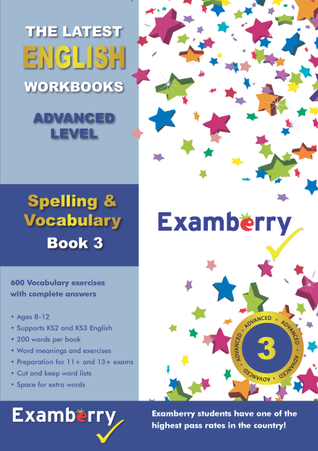 Spelling and vocabulary at 11+ english level