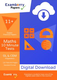 Effective quick maths 11+ practice using short exercises